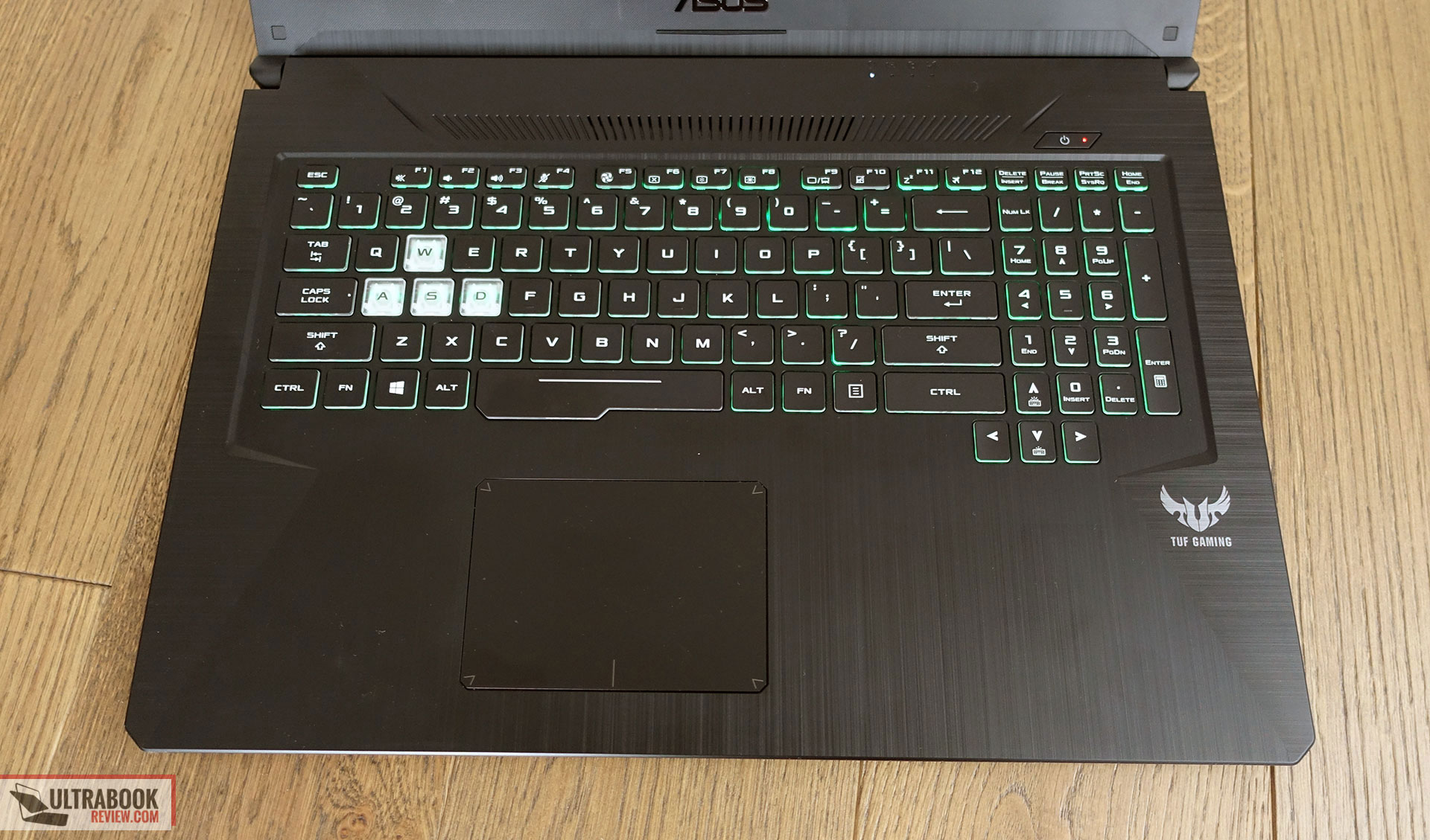 keyboard and clickpad - Asus TUF Gaming FX705