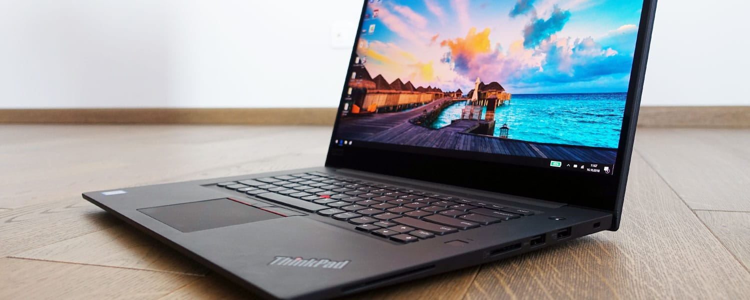 Lenovo ThinkPad X1 Extreme review (Core i7-8850H, GTX 1050 Ti Max-Q, UHD screen)