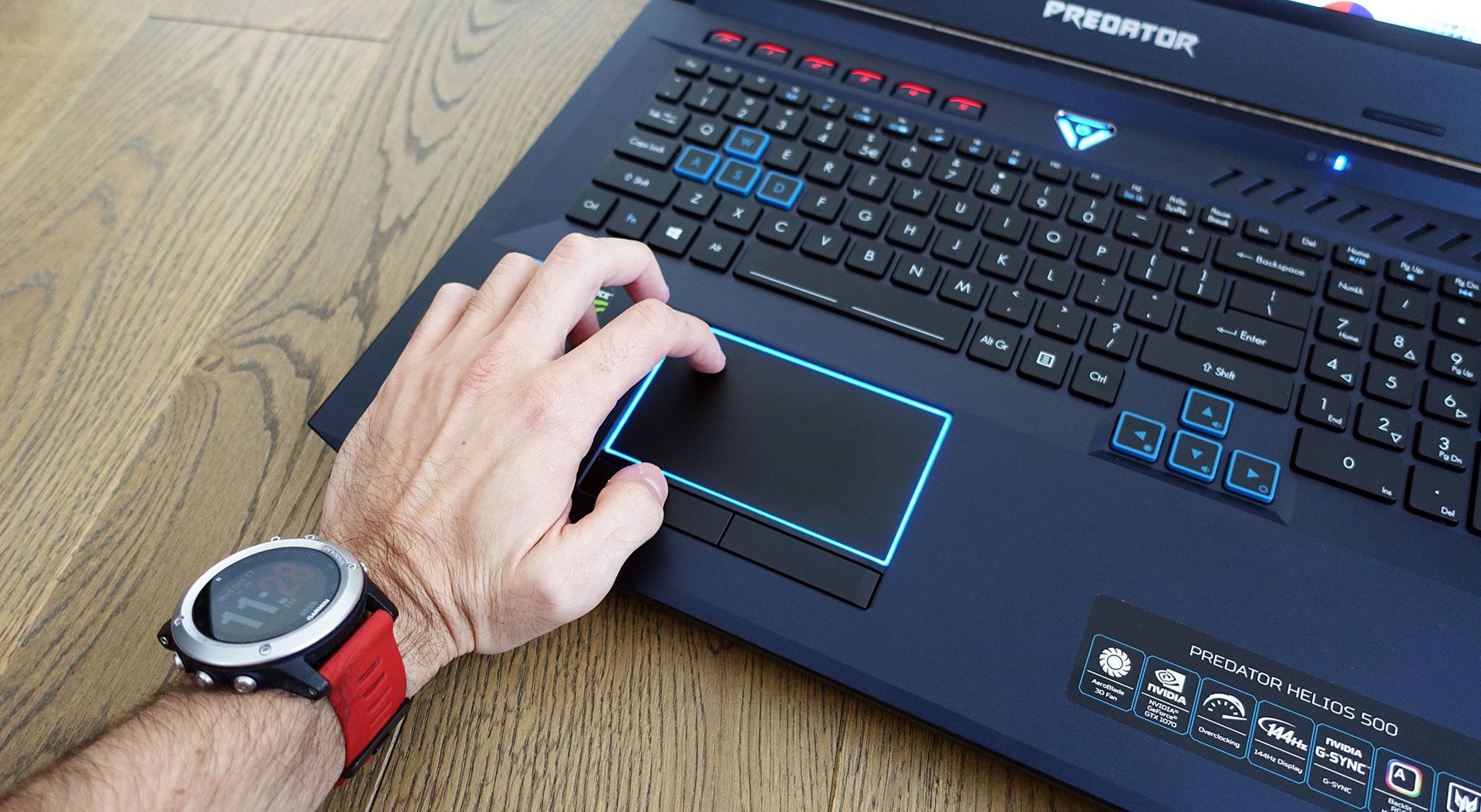 Acer Predator Helios 500 review (PH517-51 - Core i9-8950HK, GTX 1070