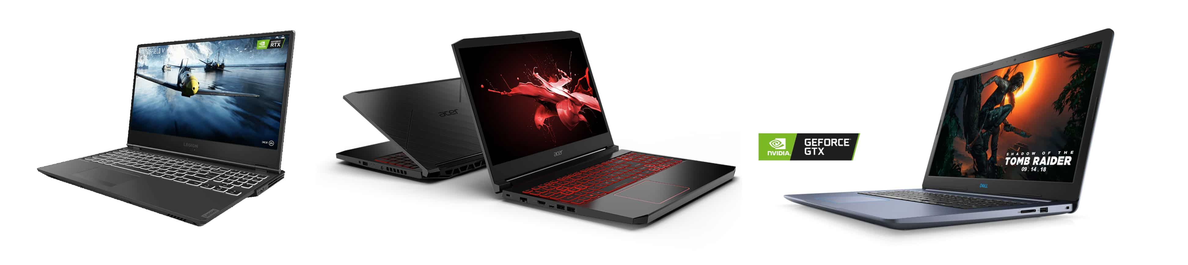 Gaming laptops under $1000: Lenovo Legion Y540, Acer Nitro 5 or Dell G3 Gaming