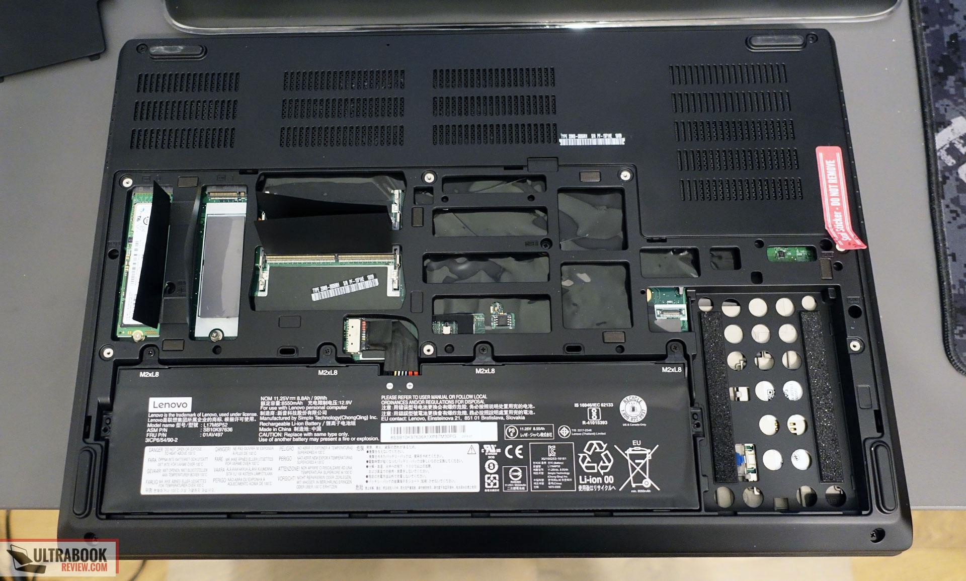 Lenovo ThinkPad P72 review (i7-8750H, Quadro P2000, FHD screen)