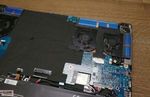 Acer Predator Triton 500 - internals