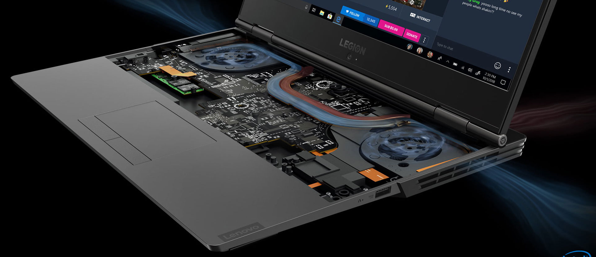 2019 Lenovo Legion Y540 and Y740 gaming laptops - RTX