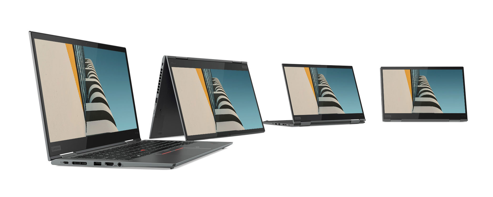 2019 premium Lenovo ThinkPads: X1 Carbon 7th-gen, X1 Yoga 4th-gen