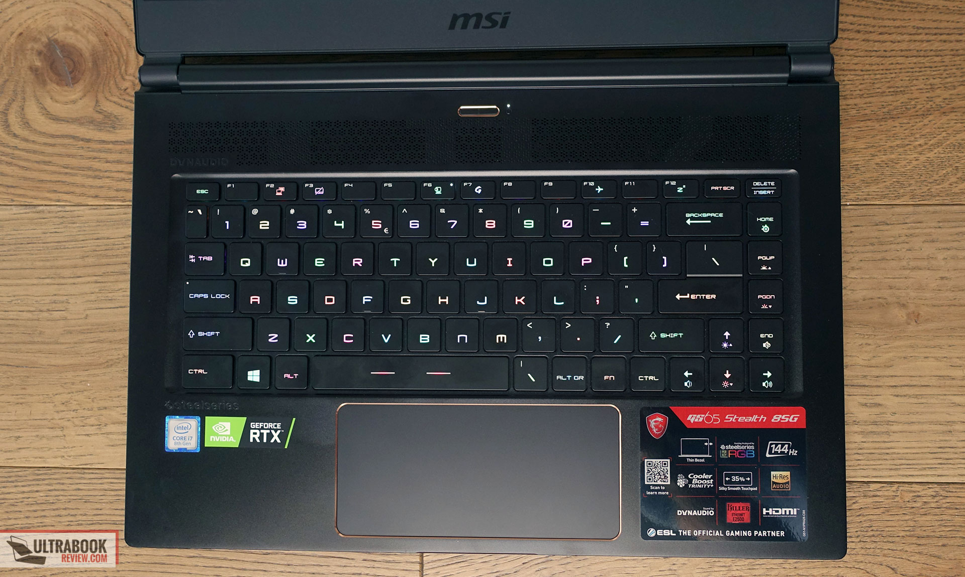 MSI GS65 Stealth Thin 8SG review (2019 model - i7-8750H, RTX 2080 Max-Q)
