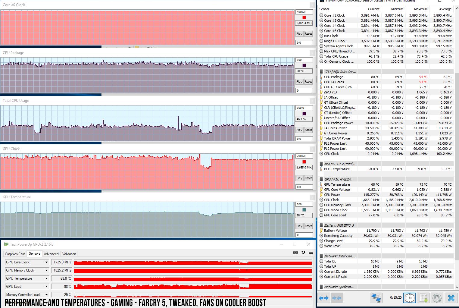 MSI GE75 Raider 8SF review (RTX 2070), vs  GE75 Raider 8SE (RTX 2060)
