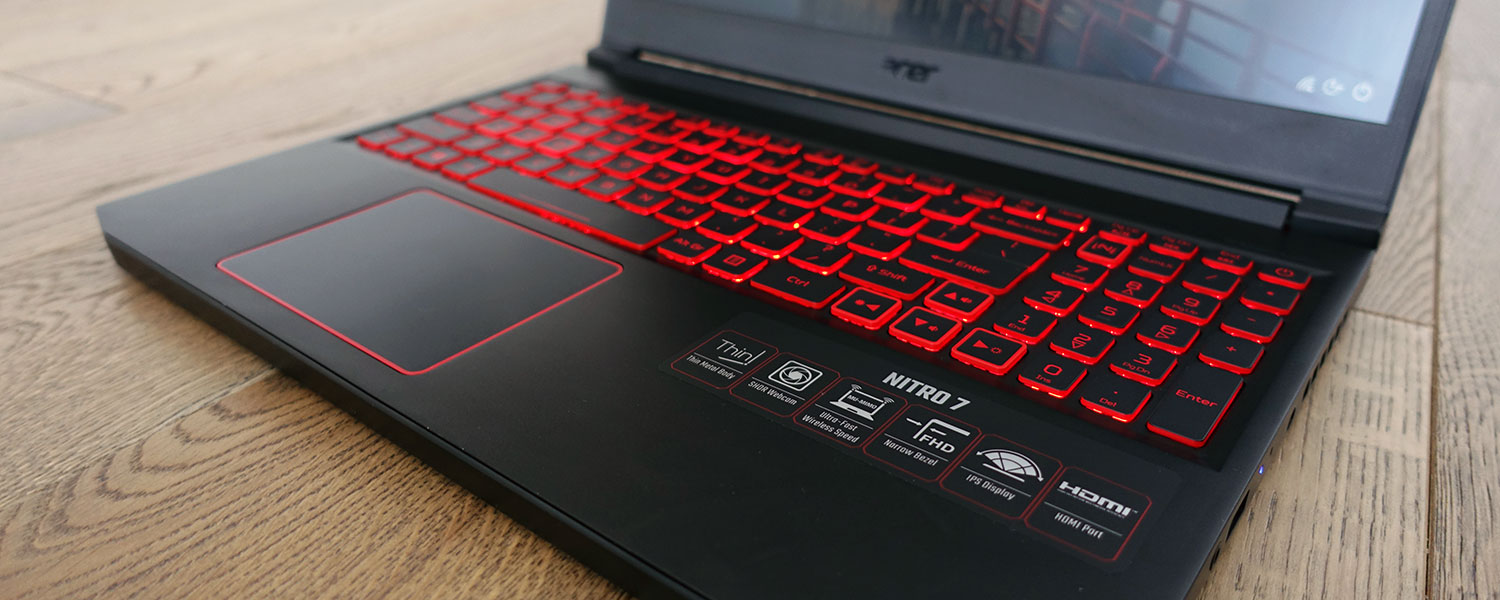 Acer Nitro 7 review (AN715-51 model – i7-8750H, GTX 1650)