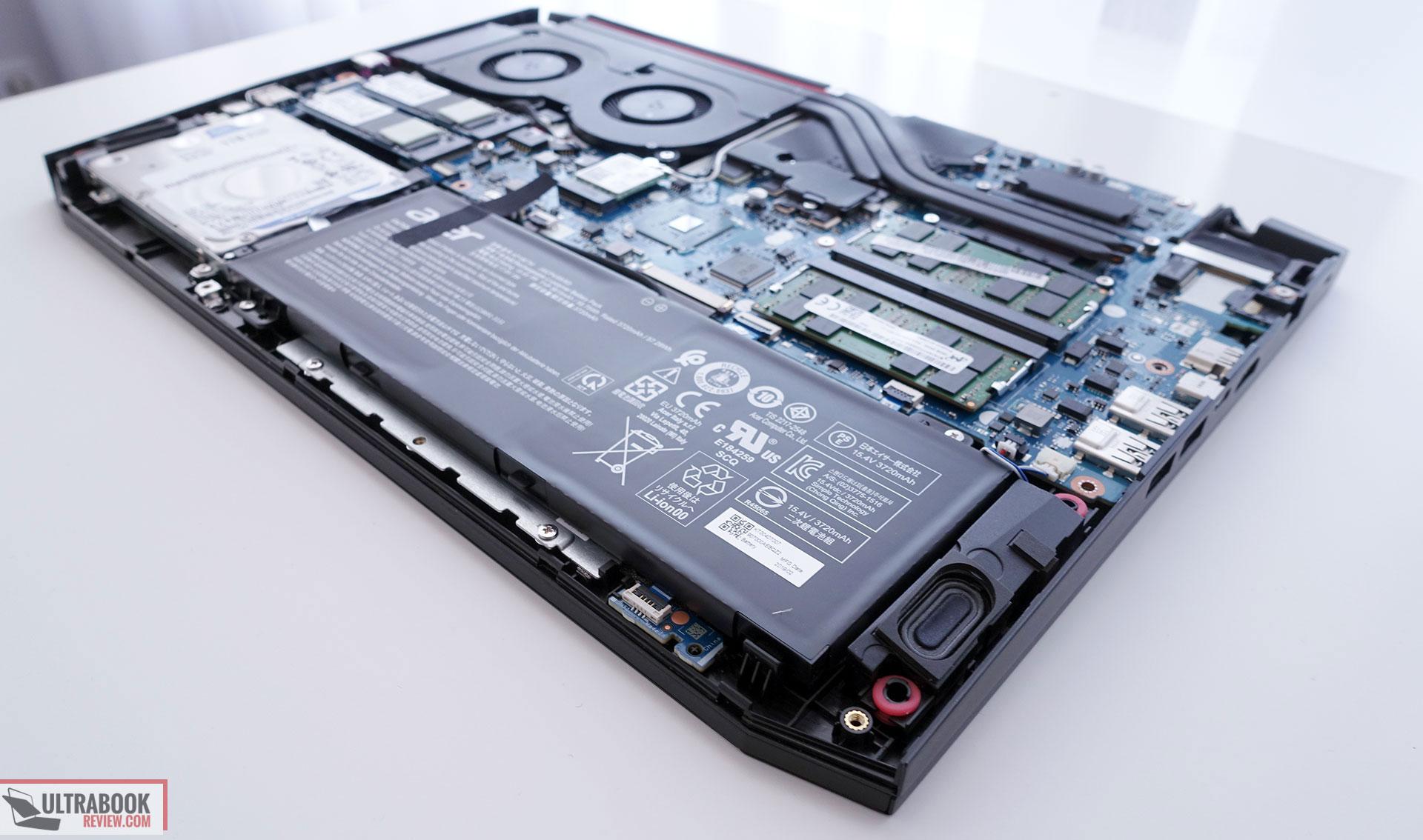 Acer Nitro 7 review (AN715-51 model - i7-8750H, GTX 1650)
