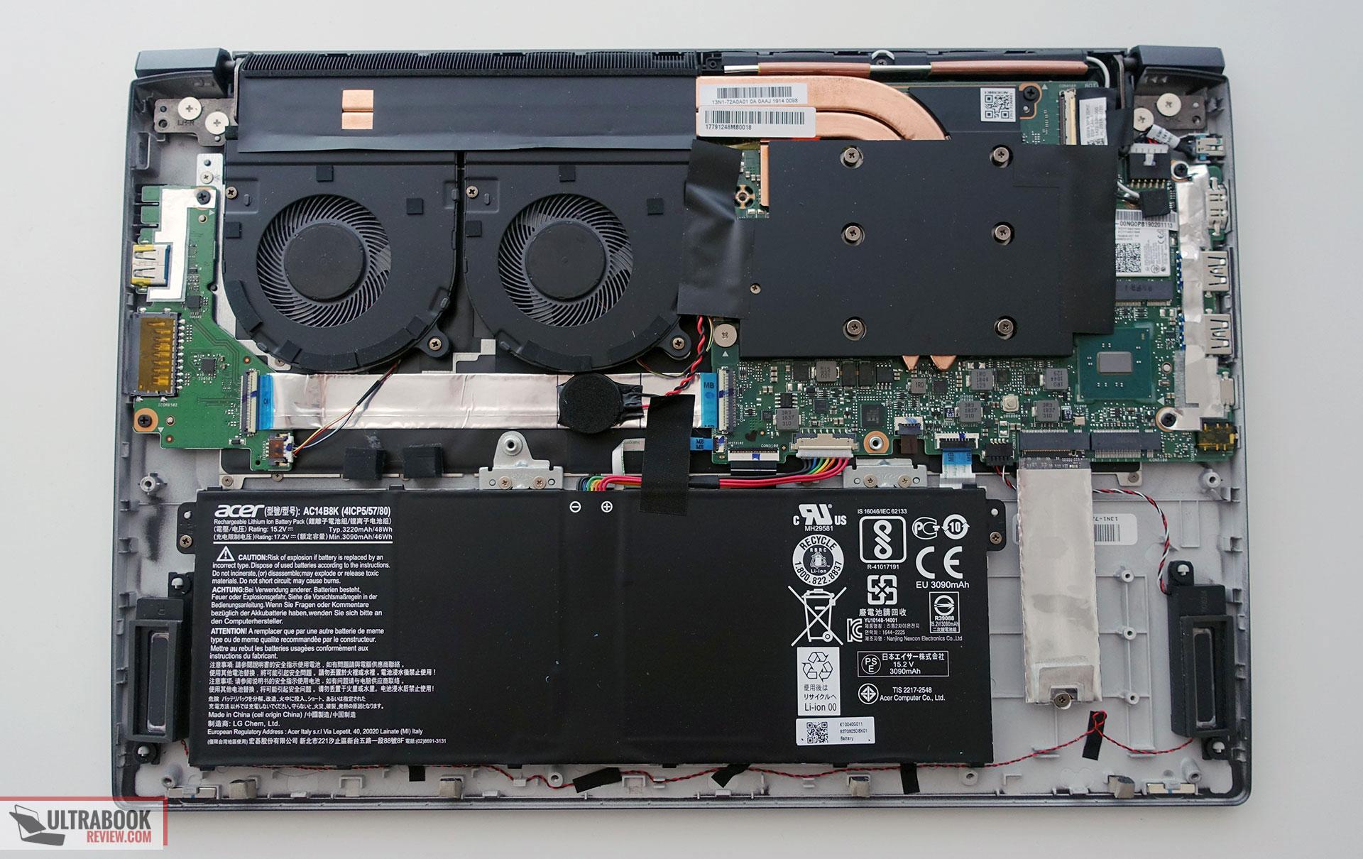 Acer Aspire 7 2019 review (A715-73G model - Core i7-8705G
