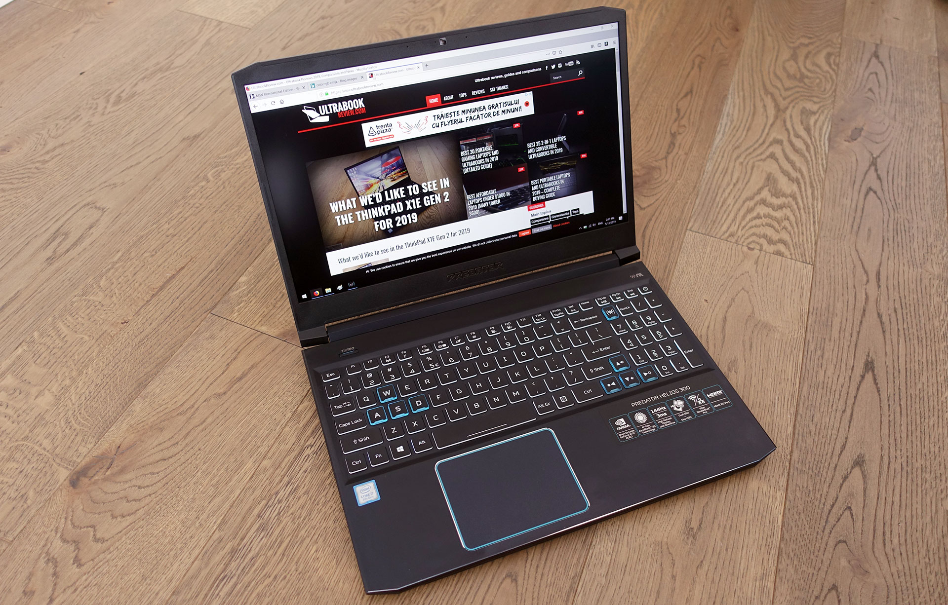 the excellent Acer Predator Helios 300 PH315-52 update from 2019