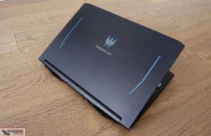 exterior design - Acer Predator Helios 300