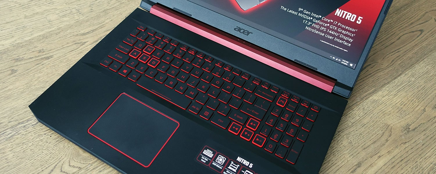 Acer Nitro 5 review (AN517-51 17-inch model – i7-9750H, GTX 1660Ti)