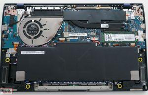 Asus ZenBook 14 UX434FL - internals