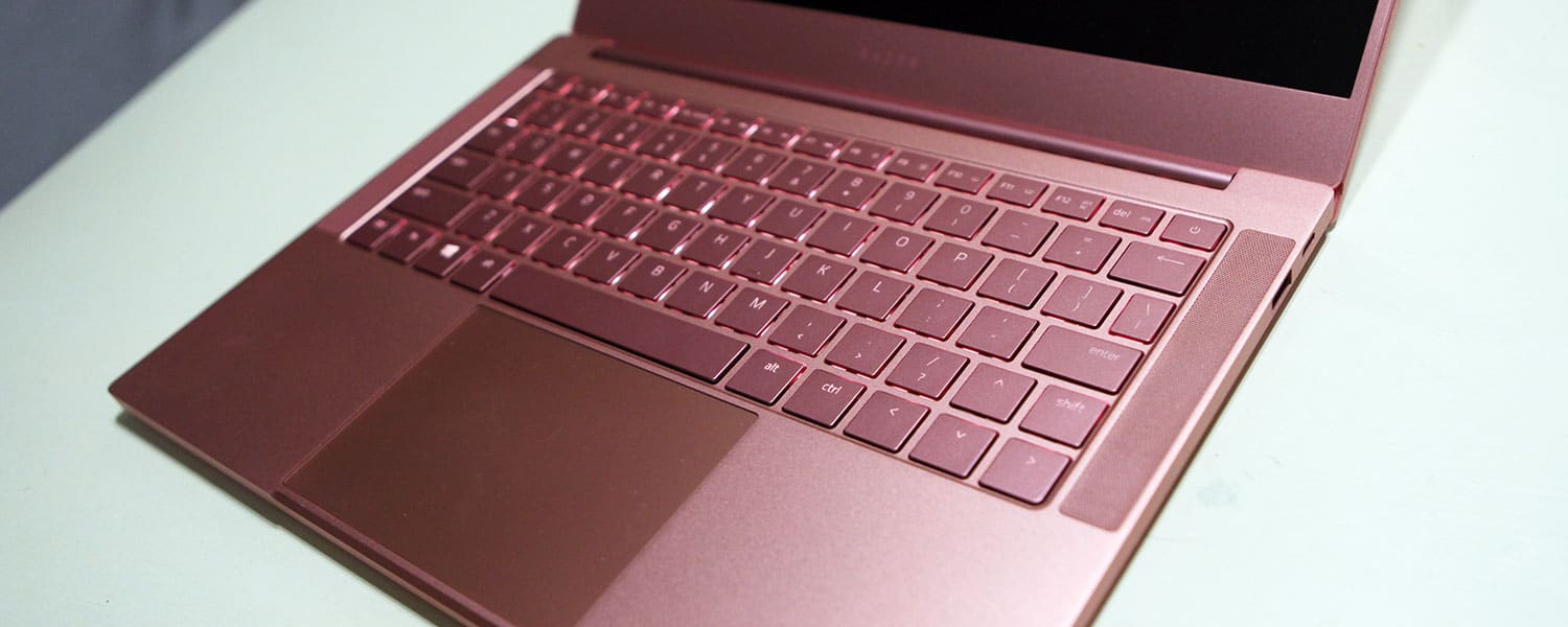 Razer Blade Stealth 2019 review (Core i7, MX150 graphics – Quartz Pink edition)