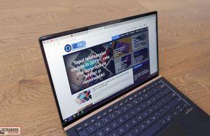 Asus ZenBook 14 UX434FL- screen