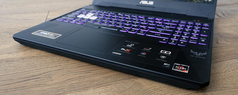 Asus Tuf Gaming Fx505dv Review Amd Ryzen 7 Nvidia Rtx 2060 90w