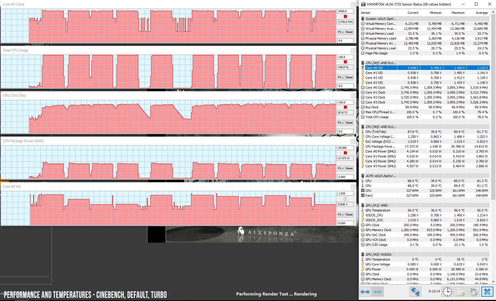 Asus ROG Zephyrus G GA502DU review (AMD R7 3750H, Nvidia GTX