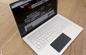 Asus ZenBook S15 S532FL - design