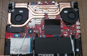 Asus ROG Strix Scar III G531GW disassembly