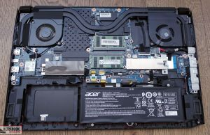 Acer ConceptD 5 Pro - internals and disassembly