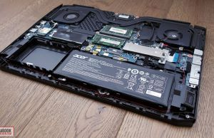 Acer ConceptD 5 Pro - internals and disassembly, battery