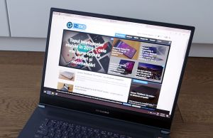 Asus StudioBook Pro W700 - keyboard