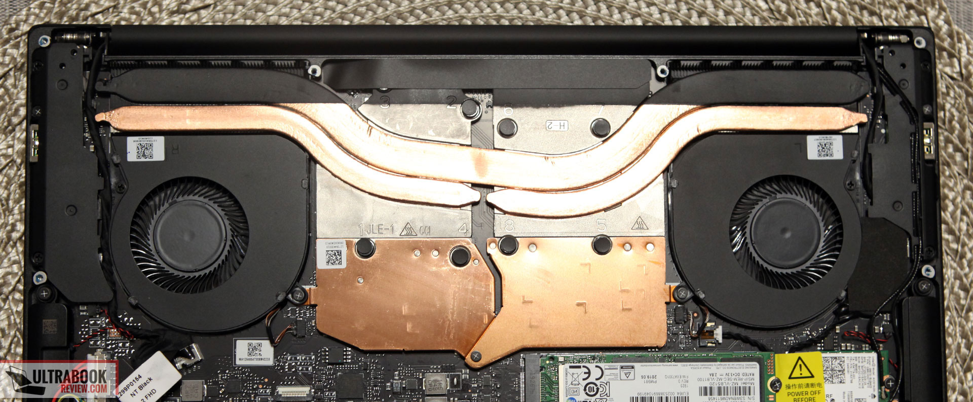 Cooling and thermal module