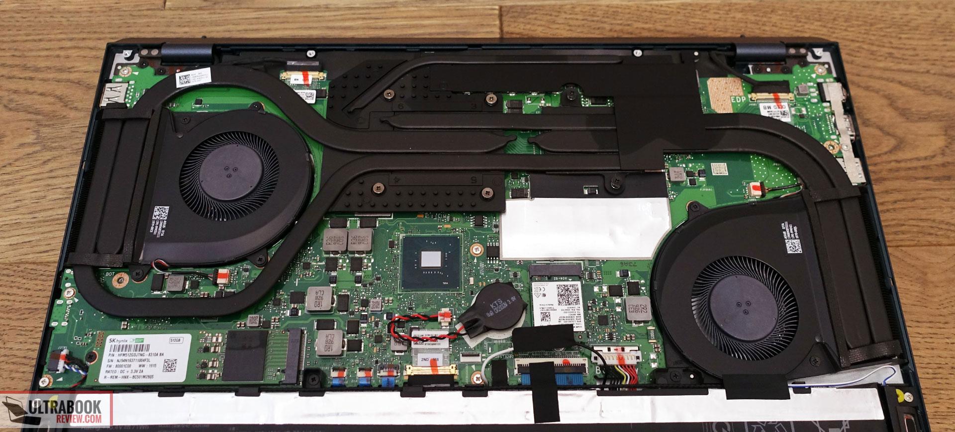 Asus Zenbook Pro Duo cooling