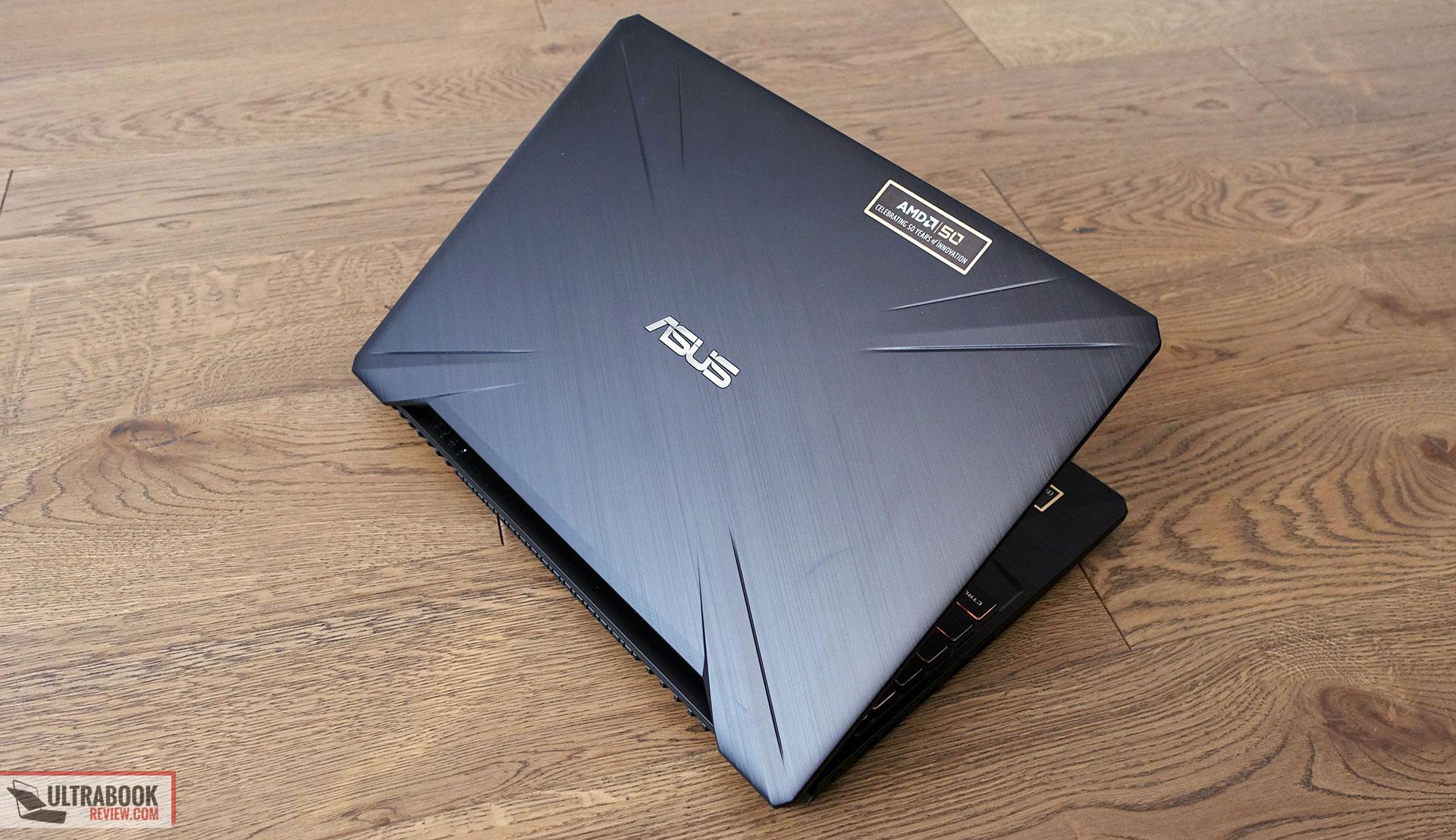 Asus TUF Gaming FX505DV - exterior design