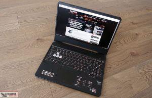 Asus TUF Gaming FX505DV - design