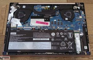 Lenovo IdeaPad S540 - internals and dissasembly