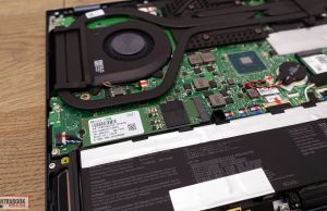 Asus Zenbook Pro Duo internals and disassembly