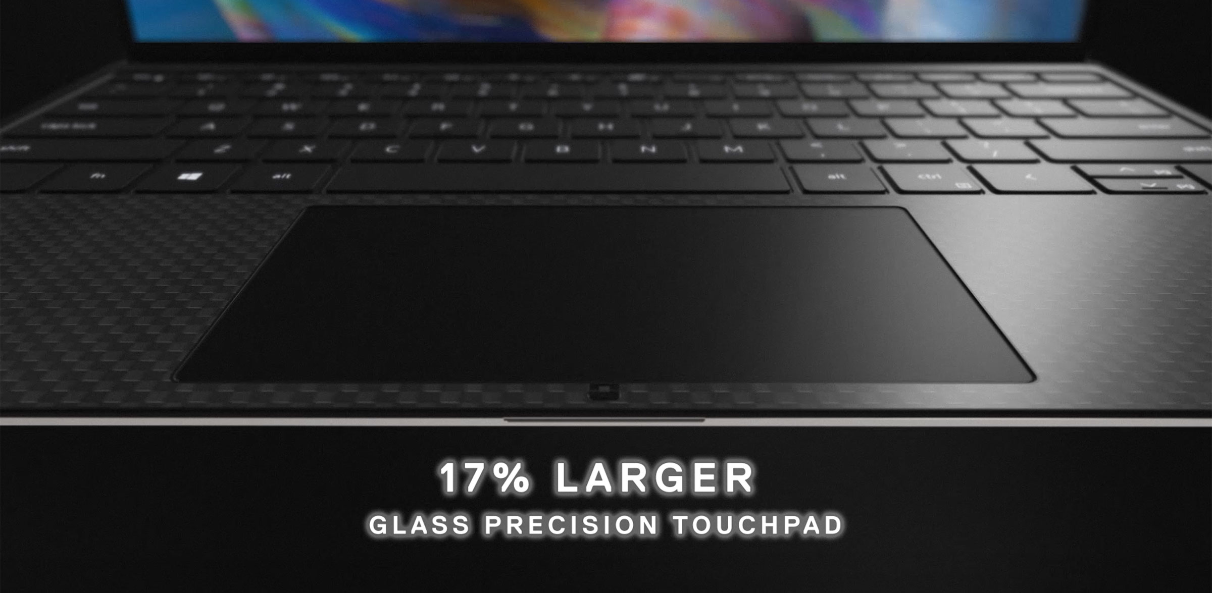 Dell XPS 13 9300 larger clickpad
