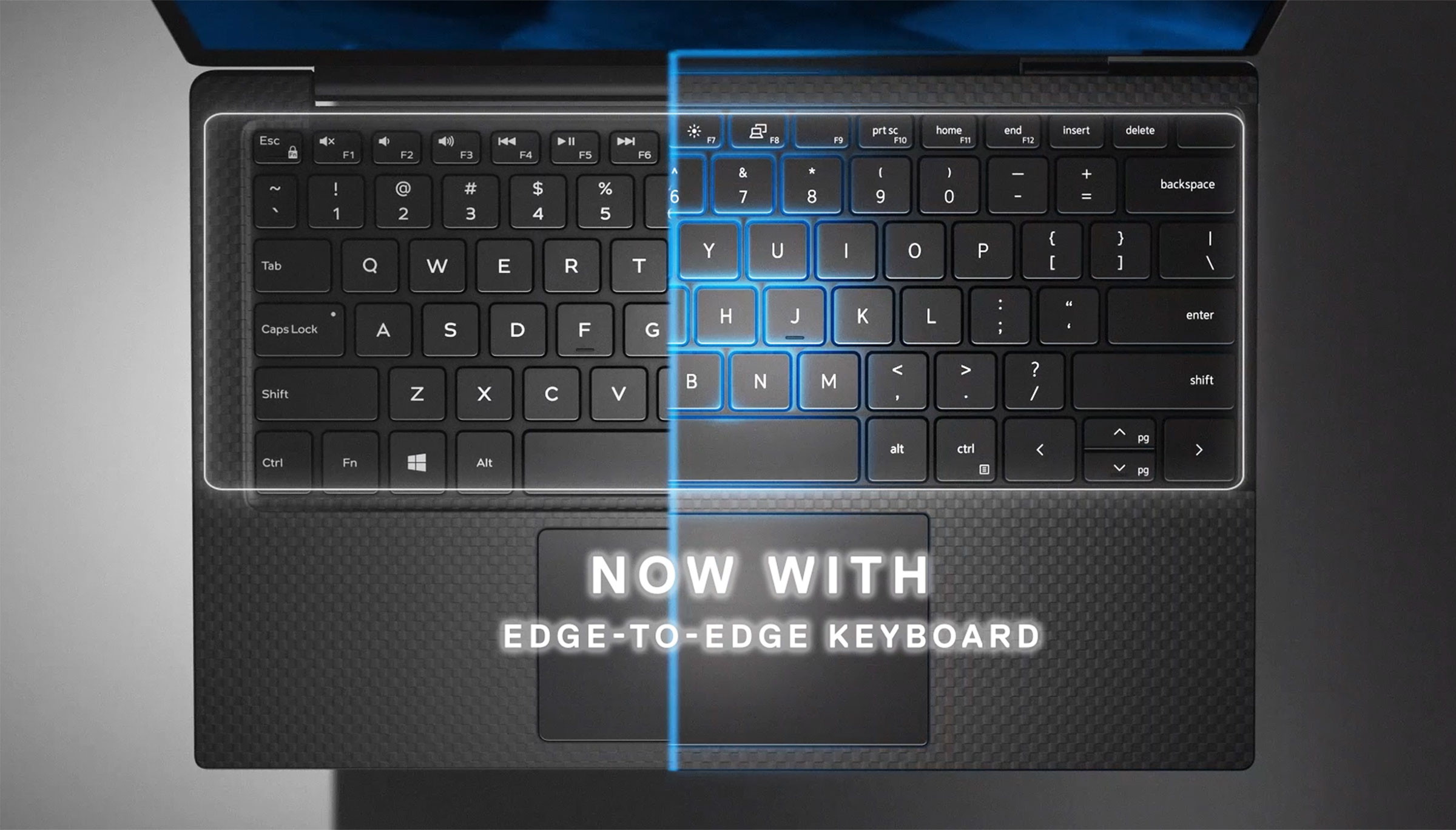 Dell XPS 13 9300 keyboard redesign