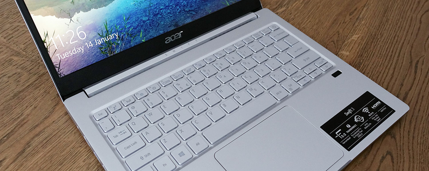 Acer Swift 3 SF313-52 review (2020 model, 3:2 display and IceLake hardware)