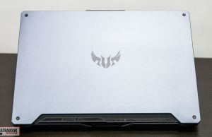 Asus TUF Gaming A15 FA506 - exterior metal design