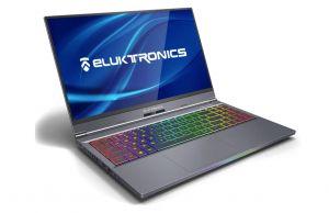 Eluktronics MAX 15- interior and keyboard