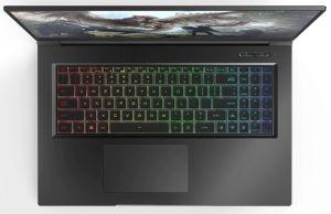 Eluktronics MAX 17- RGB keyboard with Numpad