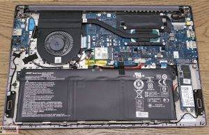 Acer Swift 3 SF314-57 internals and dissasembly
