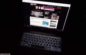 Acer Swift 3 SF313-52 keyboard
