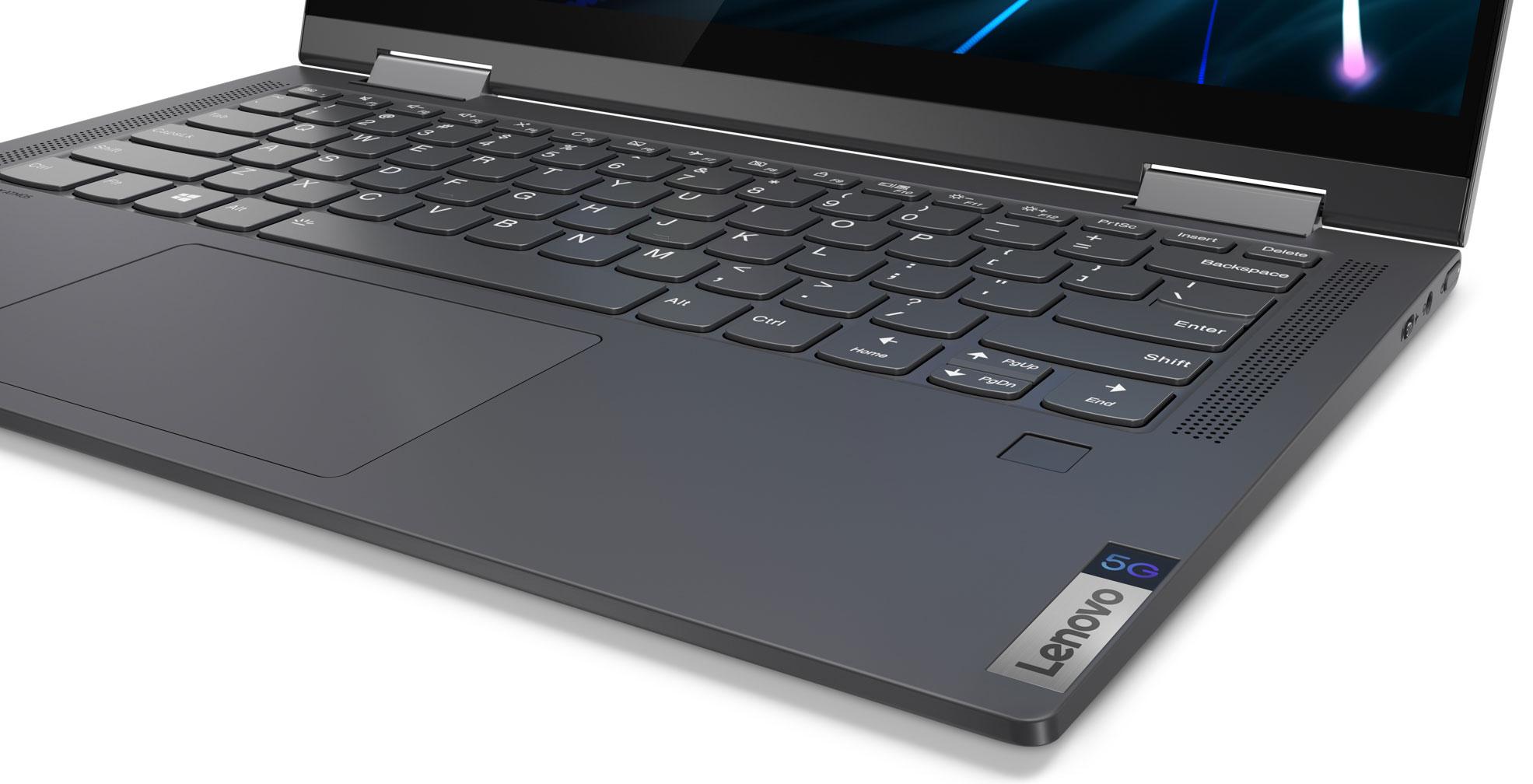 Lenovo Yoga 5G, or Flex 5G in the US