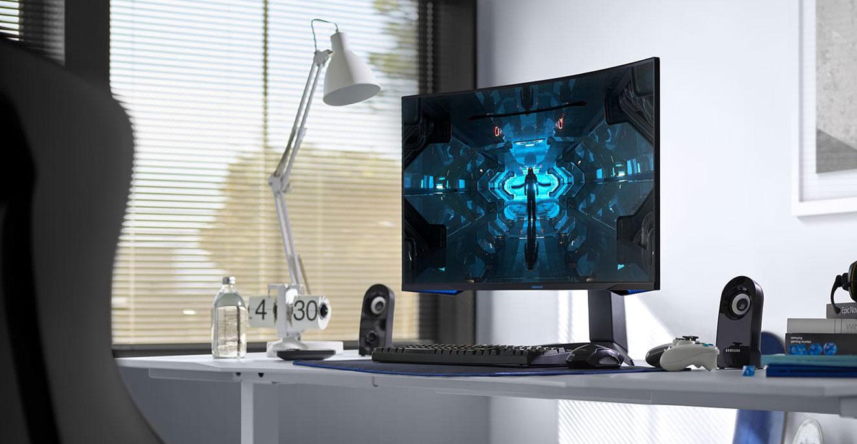 Samsung Odyssey G7 gaming monitors