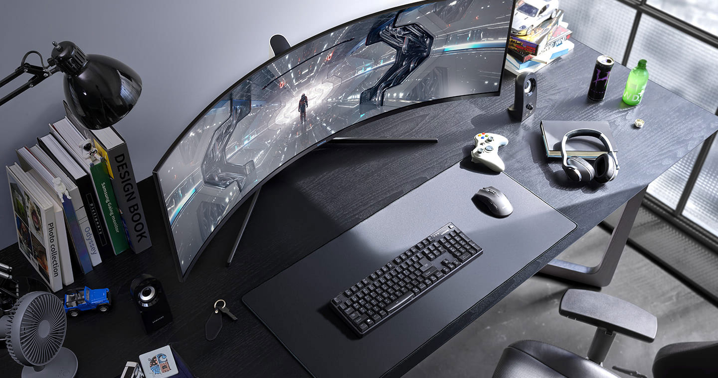 Samsung Odyssey Ctg9 49 Inch Ultrawide 5k Monitor With