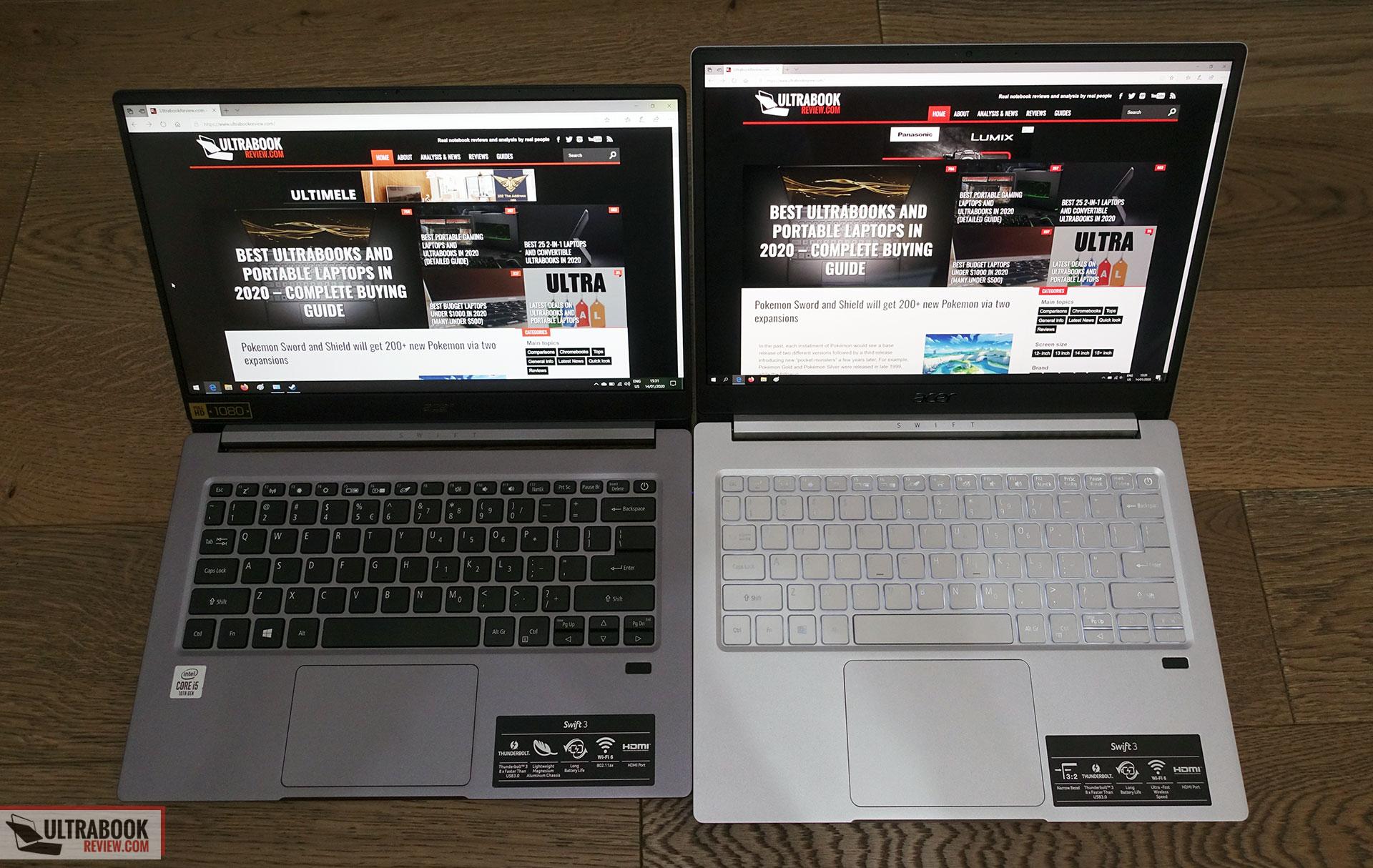 16:9 screen vs 3:2 screen