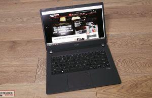 Acer TravelMate P6 P614 interior