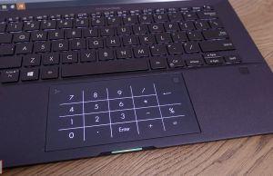 Asus ExpertBook B9450FA - numpad