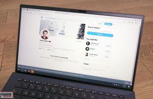Asus ExpertBook B9450FA - scrfeen bezels
