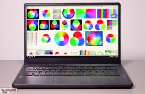 Asus ROG Zephyrus G14 GA401IV - screen colors
