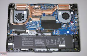 Asus TUf Gaming A15 FA506IV - internals and dissasembly