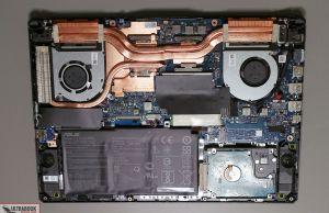 Asus TIF A15 FA506IU - internals and disassembly